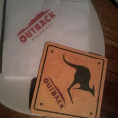 Photo taken at Outback Steakhouse by Daniely B. on 8/1/2013