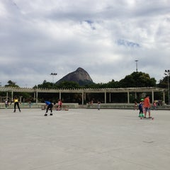 Photo taken at Parque dos Patins by Adriana D. on 5/30/2013