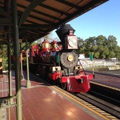 Photo taken at Walt Disney World Railroad - Main Street Station by David D. on 10/21/2012
