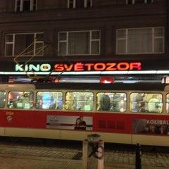 Photo taken at Kino Světozor by Jaroslav M. on 12/14/2012