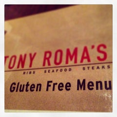 Photo taken at Tony Roma's Ribs, Seafood, & Steaks by Caleb C. on 2/10/2013