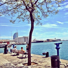 Photo taken at OneOcean Port Vell Barcelona by Lorena P. on 5/9/2013