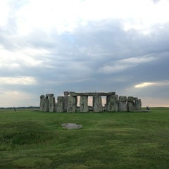 Photo taken at Stonehenge by Danielle A. on 6/7/2013