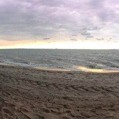 Photo taken at Pantai Puteri by 😉 . on 11/7/2015