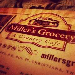 Photo taken at Miller's Grocery by Jeff S. on 9/22/2012