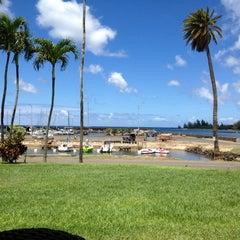 Photo taken at Haleiwa Joe's by Amy B. on 9/1/2012