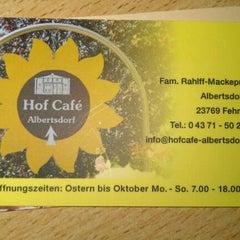 Photo taken at Hof Café Albertsdorf by Sunny P. on 9/13/2011