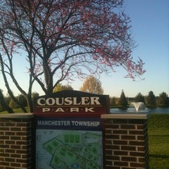 Photo taken at Cousler Park by Katie J. on 4/6/2012