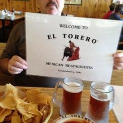 Photo taken at El Torero by Ed W. on 12/31/2012