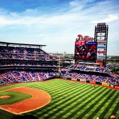 Photo taken at Citizens Bank Park by Ernest S. on 6/5/2013