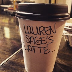 Photo taken at Empresso Coffeehouse by Lauren S. on 2/11/2015