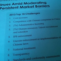 Photo taken at US-China Business Council by Marc R. on 10/4/2013