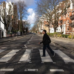 Photo taken at Abbey Road Crossing by Danilo R. on 2/15/2013