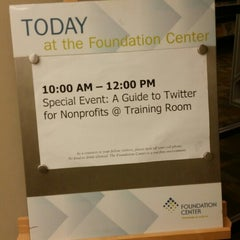 Photo taken at The Foundation Center by Sonya S. on 9/4/2014