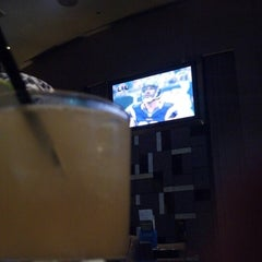 Photo taken at Skybox Sports Bar & Grill by Jeremy B. on 10/21/2012