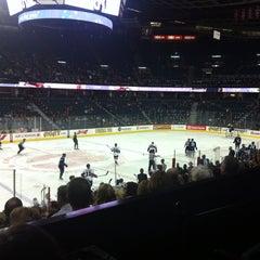 Photo taken at Scotiabank Saddledome by Alan G. on 3/29/2013
