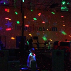 Photo taken at Pump It Up by Katie S. on 4/5/2014