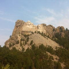 Photo taken at Mount Rushmore National Memorial by Tyler A. on 9/16/2012