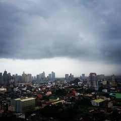 Photo taken at Pablo Ocampo Sr. Avenue by leiko l. on 8/19/2013