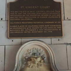 Photo taken at St. Vincent Court by Lorenzo D. on 1/25/2016