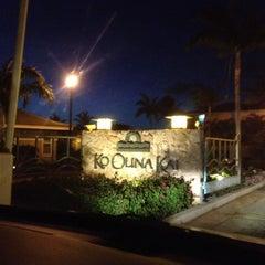 Photo taken at Ko Olina Resort by Trey B. on 11/1/2012