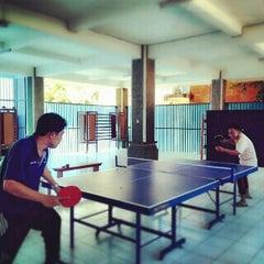 Photo taken at Rumah Pintar Pemkot Denpasar by Uut G. on 5/16/2014