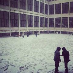 Photo taken at İstanbul Teknik Üniversitesi by Emin M. on 12/20/2012