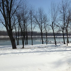 Photo taken at Missouri River by Carrie N. on 2/24/2013