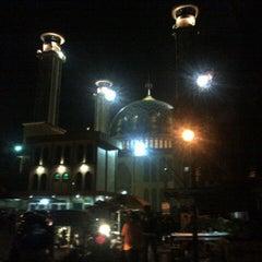 Photo taken at Masjid Agung AL-BARKAH Bekasi ® by Imam K. on 7/4/2014