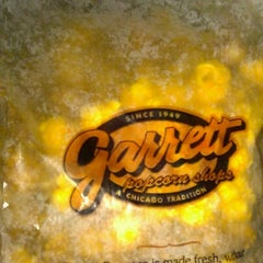 Photo taken at Garrett Popcorn Shops by Angela G. on 10/21/2012