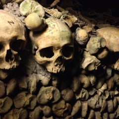 Photo taken at Catacombes de Paris by Dave B. on 5/24/2013