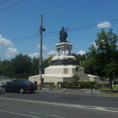 Photo taken at Parcul Eroilor by Liviu T. on 7/15/2013
