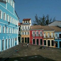 Photo taken at Largo do Pelourinho by Virgínia A. on 9/20/2012