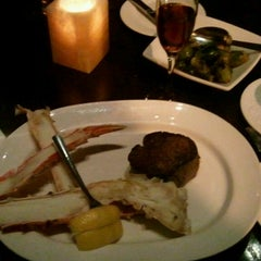 Photo taken at Carnevor Steakhouse Moderne by Cyndy F. on 3/9/2013