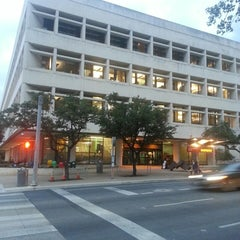 Photo taken at Faulk Central Library, Austin Public Library by Erick R. on 9/17/2014