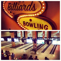Photo taken at Grand Central Restaurant & Bowling Lounge by Rick B. on 12/8/2012