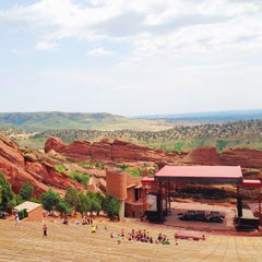Photo taken at Red Rocks Park & Amphitheatre by Tiffany M. on 7/6/2013