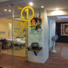 Photo taken at No 1 Relax Beauty Salon by Baldwin N. on 10/12/2012