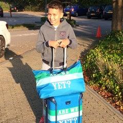 Photo taken at International School of Amsterdam by Evren I. on 9/12/2014