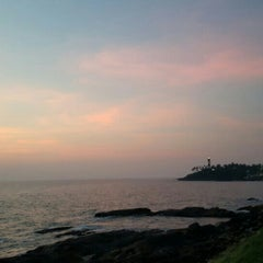 Photo taken at Vizhinjam Lighthouse by Naveen on 1/2/2016