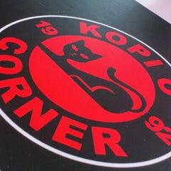 Photo taken at Kopi O' Corner by Arwen L. on 11/3/2012
