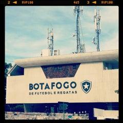 Photo taken at Botafogo de Futebol e Regatas by Bruno Q. on 3/10/2013