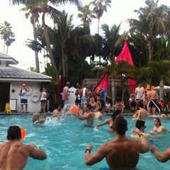 Photo taken at The Pool Parties at The Surfcomber by Andrey Kisa F. on 3/20/2013
