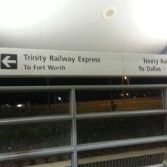 Photo taken at Richland Hills Station (TRE) by Everett J. on 9/23/2012