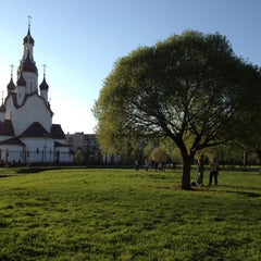 Photo taken at Парк Строителей by Dmitry S. on 5/15/2013