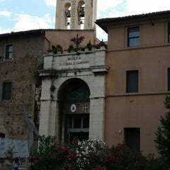 Photo taken at Basilica S.Cosma e Damiano by Kris D. on 7/13/2014