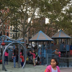Photo taken at Hester Street Playground by Maryna B. on 10/8/2015