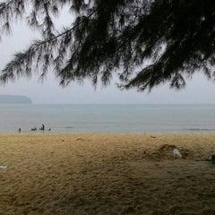 Photo taken at Demong Beach Resort by Syukur S. on 10/3/2015