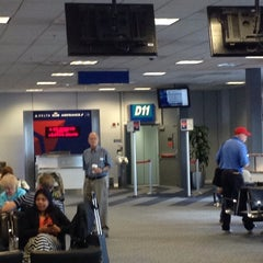 Photo taken at SLC Gate D11 by Elisabeth S. on 9/15/2014