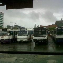 Photo taken at Wawasan Bus Terminal by Earl J. on 5/30/2013